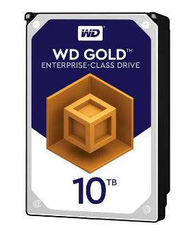 هارددیسک اینترنال وسترن دیجیتال مدل Gold WD101KRYZ ظرفیت 10 ترابایت
