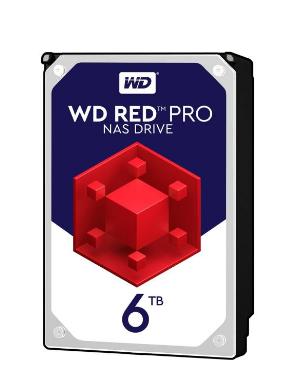 هارددیسک اینترنال وسترن دیجیتال مدل Red Pro WD6002FFWX ظرفیت 6 ترابایت