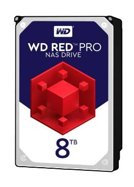 هارددیسک اینترنال وسترن دیجیتال مدل Red Pro WD8001FFWX ظرفیت 8 ترابایت