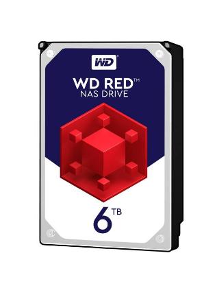 هارددیسک اینترنال وسترن دیجیتال مدل Red WD60EFRX ظرفیت 6 ترابایت