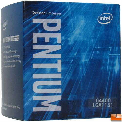 پردازنده مرکزی اینتل سری Skylake مدل Pentium G4400