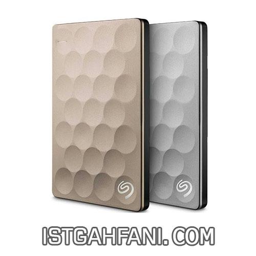 هارددیسک اکسترنال سیگیت مدل Backup Plus Ultra Slim ظرفیت 1 ترابایت