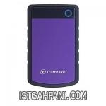 هارددیسک اکسترنال ترنسند مدل StoreJet 25H3 ظرفیت 4 ترابایت